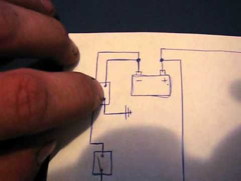 F350 Alternator Wiring Diagram Dual Battery Wiring Diagram For Ndchevy Youtube