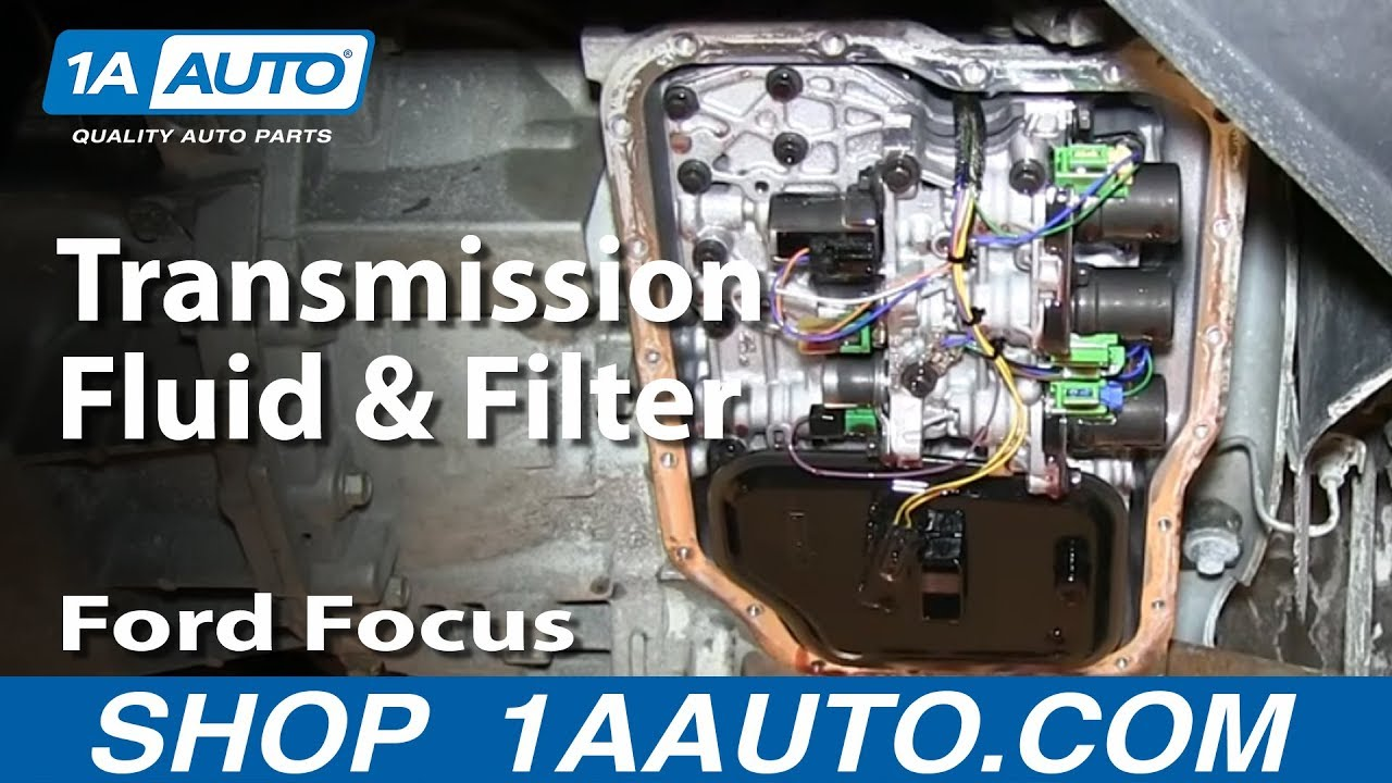 2007 Ford Mustang Fuse Box Vs How To Service Change Transmission Fluid And Filter Ford