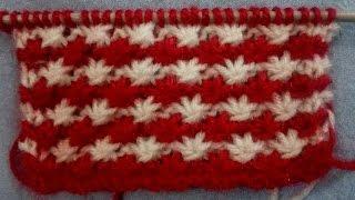 Knitting Stitches | Star Design