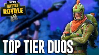 Top Tier Duos! - Fortnite Battle Royale Gameplay - Ninja & Dr Lupo