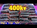 Test MODULE kích điện cao áp 400kv và 50kv - Test MODULE high voltage 400kv and 50kv