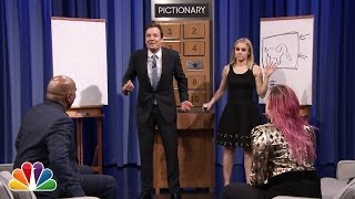 Pictionary with Kristen Bell, Steve Harvey and Demi Lovato - Part 1