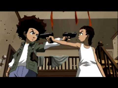 Gangster Girls And Guns Wallpaper The Boondocks Soundtrack Huey Vs Riley Unremixed Youtube