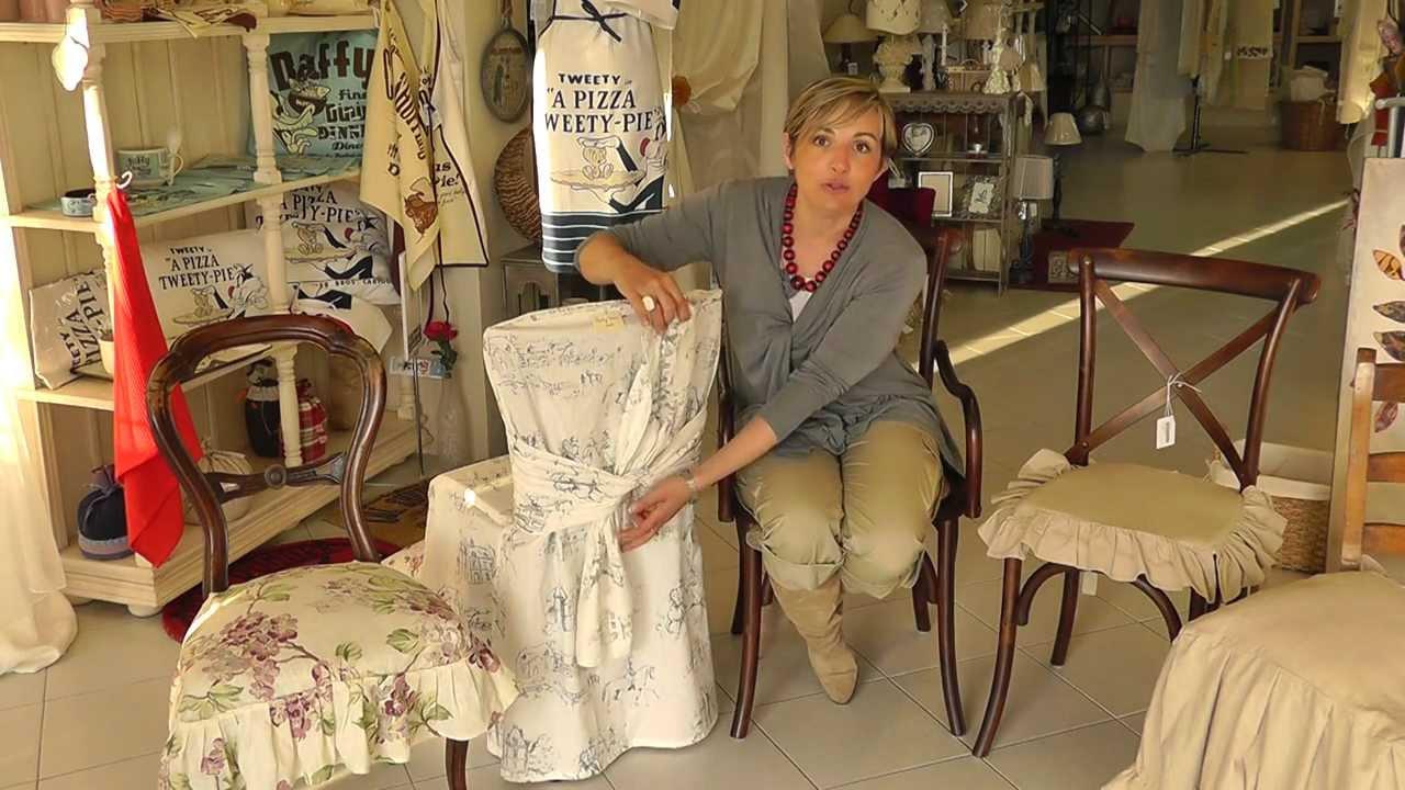 Come ricoprire le tue sedie I consigli di Nadia a Veli