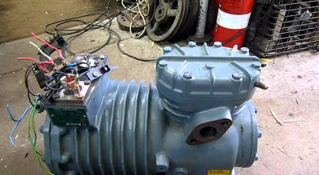 Copeland Scroll Wiring Diagram Refrigeration Dwm Copeland Semi Hermetic Compressor Testing Youtube