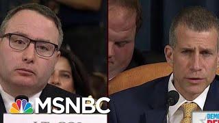 GOP Reaches New Low In Questioning Vindman's Loyalty   Morning Joe   MSNBC