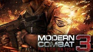 Modern Combat 3: Fallen Nation - First Mission - iPad 2 - HD Walkthrough - Part 1
