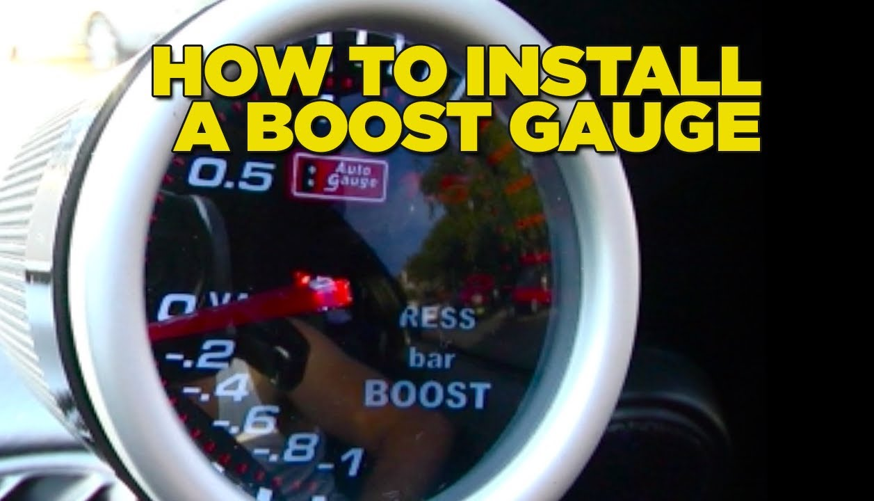 Buick Regal Obd2 Wiring Diagram How To Install Boost Gauge Diy Youtube