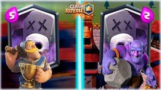 ¡¡ CEMENTERIO EN MAZO RAPIDO VS CEMENTERIO EN MAZO LENTO !! - Clash Royale [WithZack]