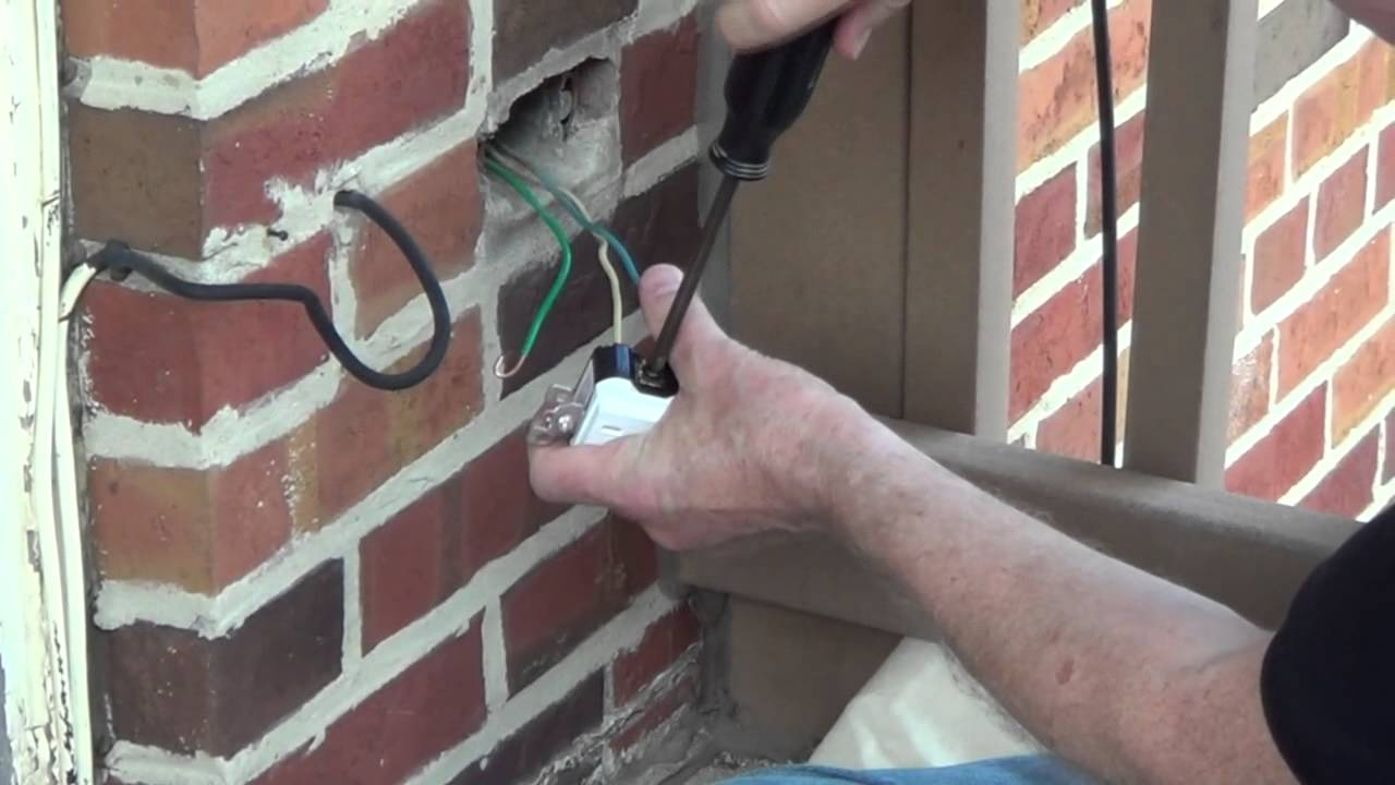 Running Outdoor Cable How To Install Outdoor Wiring Home
