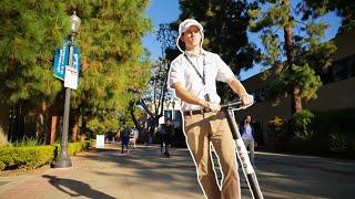 Security Guard Prank At UCLA!