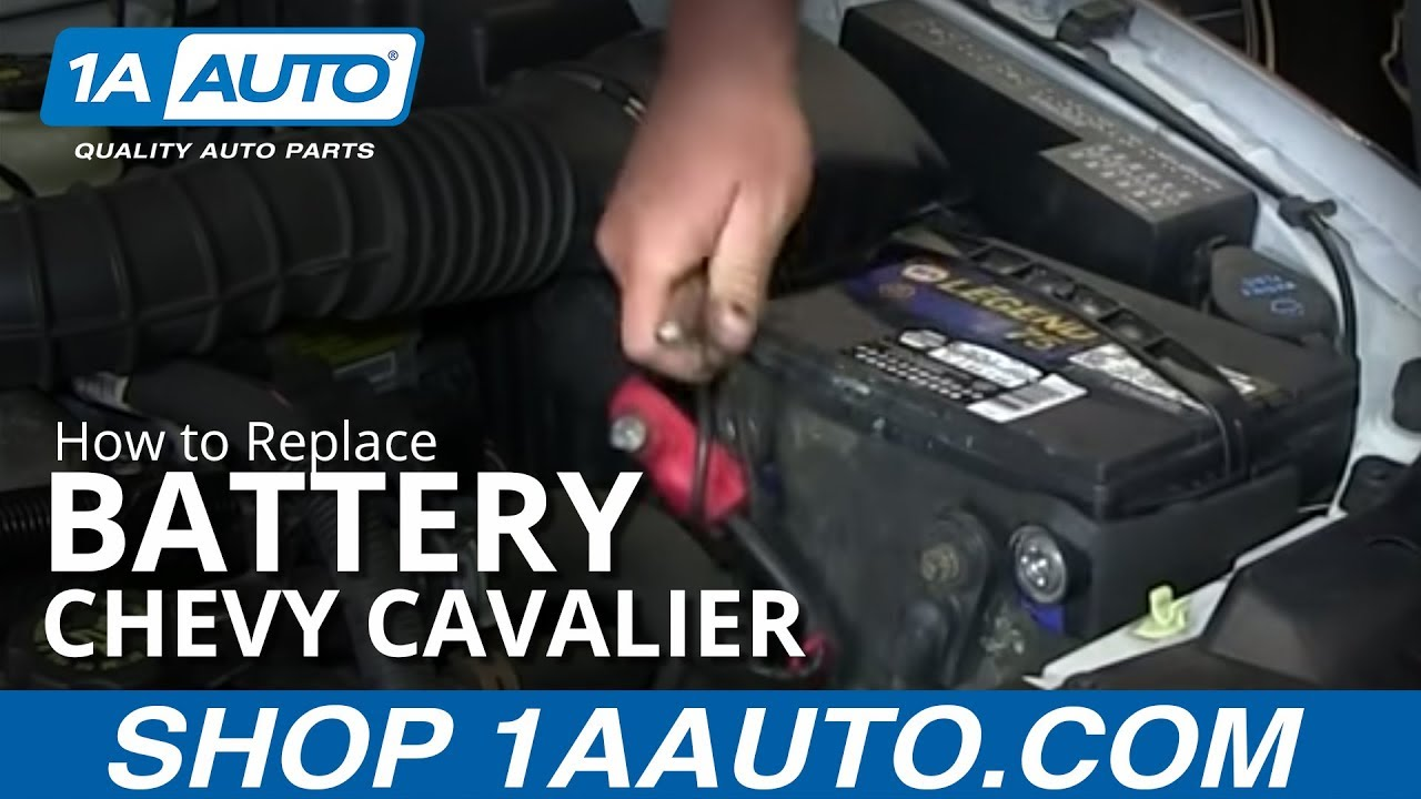 2010 Chevy Cobalt Radio Wiring Diagram How To Install Replace Dead Battery 1995 05 Chevy Cavalier
