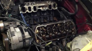 How to replace a head gasket  part 1  YouTube