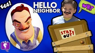 HELLO NEIGHBOR Giant Surprise EGG and Adventure