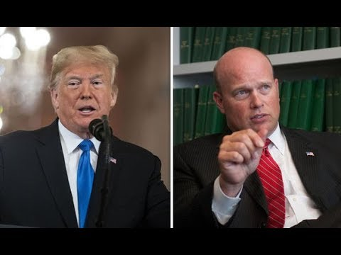 AG MATT WHITAKER STATED NO TRUMP COLLUSION OR OBSTRUCTION ON CNN REGARDING MUELLER PROBE