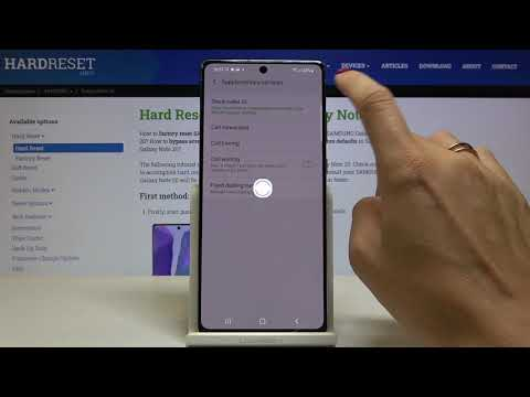 How to Make Number Private in SAMSUNG Galaxy Note 20 – Hide Your Number