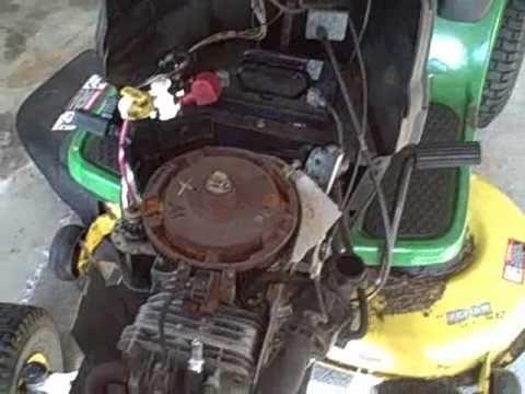 Pto Mower Switch Wiring Diagram Part 1 How To Repair Briggs John Deere La115 19 5 Hp