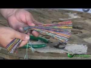 100 Pair Cat3 Telephone Bulk Cableflv  YouTube