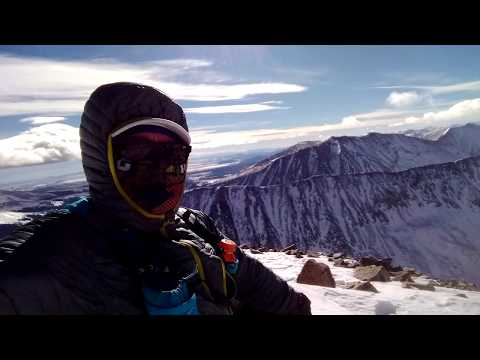 Quandary Dec 15 2018 - Summit in the Windy