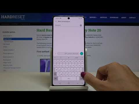 How to Change Keyboard Language in SAMSUNG Galaxy Note 20 – Find Keyboard Dictionary