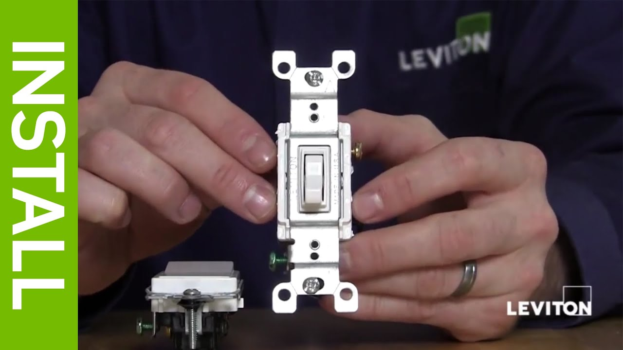 How To Install Leviton Dimmer Switch Levitonproductscom Youtube