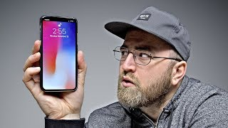 Removing The Notch From iPhone X