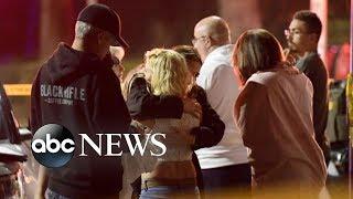 California bar massacre leaves 12 dead