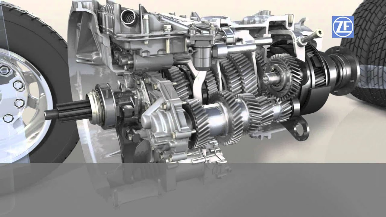 Ford F 150 Automatic Transmission Diagram Zf As Tronic For Trucks En Youtube