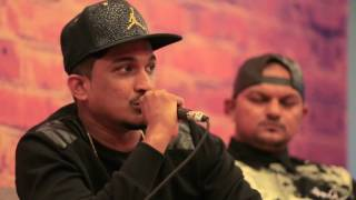 #RollingWith | Divine, Naezy, Bobkat and Ace | Live at Twitter Blue Room
