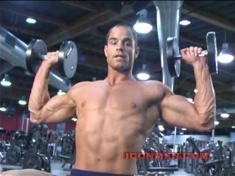 Brian Wade  Military Press Bodybuilding  YouTube