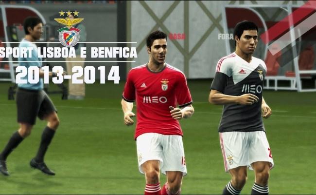 Novo Equipamento Do Sport Lisboa E Benfica 2013 2014 Pes