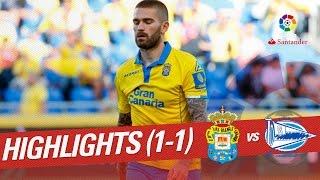 Resumen de UD Las Palmas vs Deportivo Alavés (1-1)