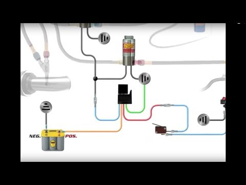 Nos Relay Wiring Diagram How To Wire An Nos Nitrous System Youtube