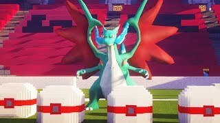 NUEVA MEGA EVOLUCIÓN CHARIZARD en HONOR BALL LUCKY BLOCK | MINECRAFT MOD PIXELMON POKEMON