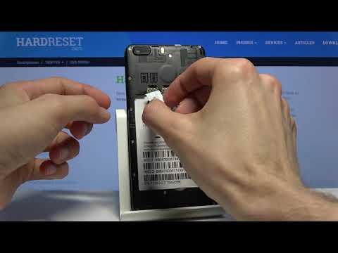Insert SIM & SD in DENVER SDQ-52001G - Install Micro SIM and Memory Card