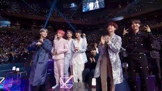 When celebrities meet BTS 😱