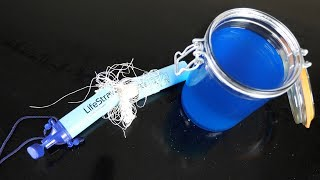 What's inside a LifeStraw?