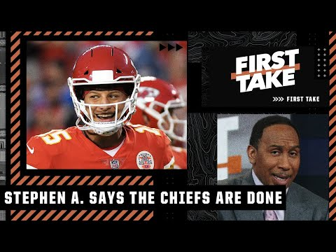 'Chiefs are DONE! Their defense is TRASH!' - Stephen A. after KC's loss to the Bills | First Take