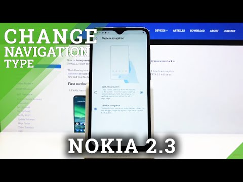 How to Change Navigation Bar in NOKIA 2.3 – Enable Navigation Buttons