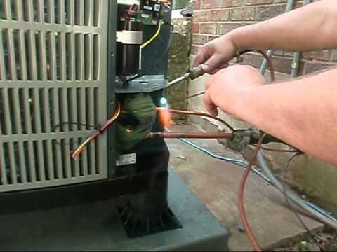 American Standard Heat Pump Thermostat Wiring Diagram Hvac American Standard Heat Pump Air Handler Install