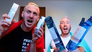DYING OUR HAIR CRAZY COLORS!