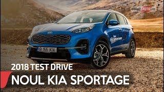 2018 KIA SPORTAGE 1.6 DSL 7DCT GT Line   TEST DRIVE eblogAUTO