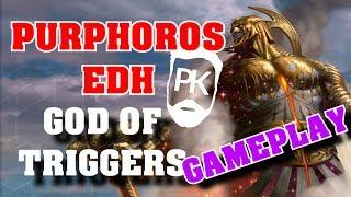 Purphoros EDH - God of the Triggers - MTG Gameplay