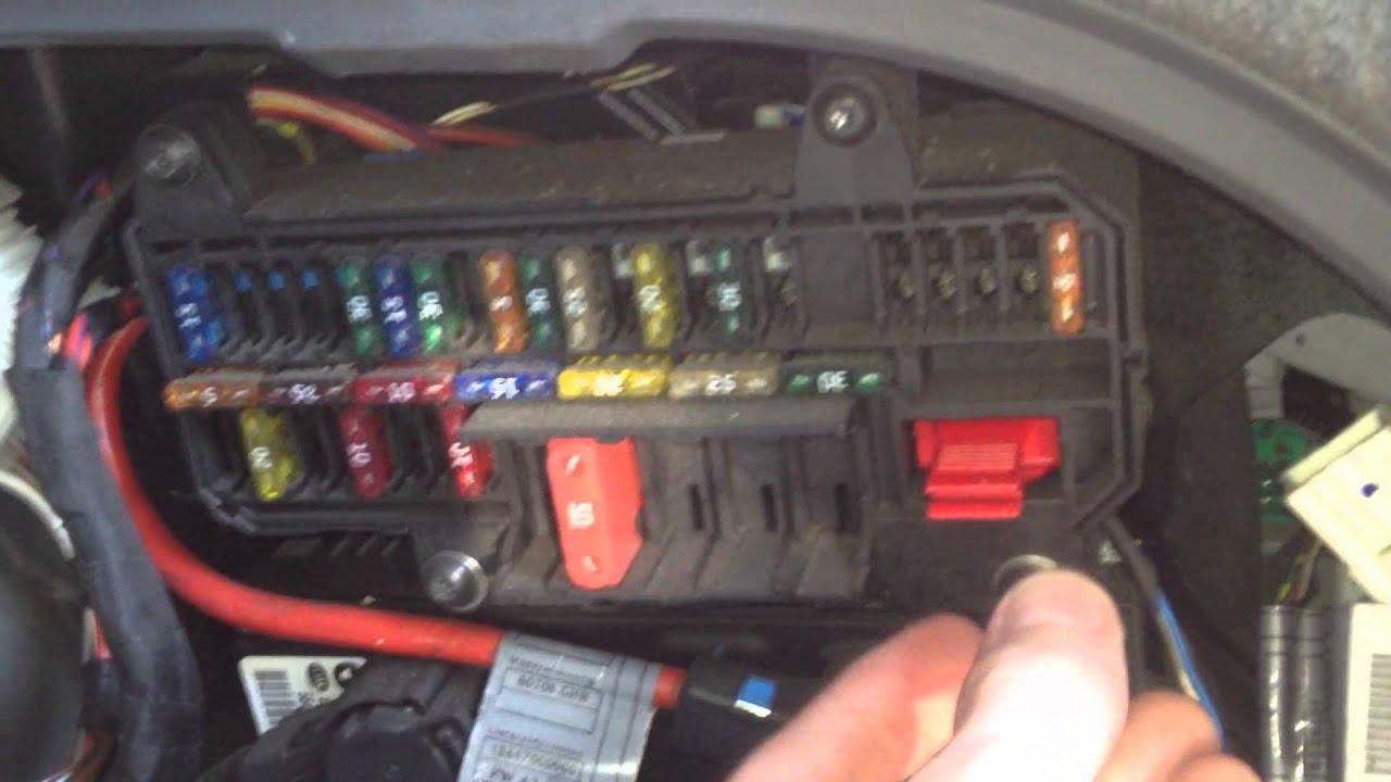2002 bmw e46 radio wiring diagram mini cooper vacuum e65 e66 fuse box locations with chart - youtube
