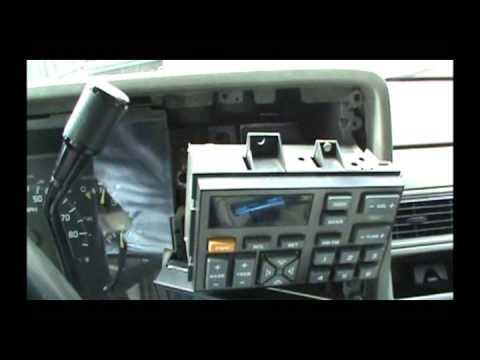 1991 Chevy Kodiak Wiring Diagram 93 Chevy Silverado Aftermarket Radio Install Youtube