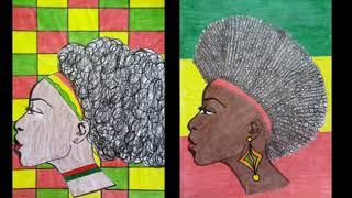 CONSCIÊNCIA NEGRA - CABELEIRA ARTÍSTICA - Arte na sala de aula.