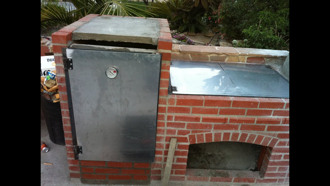 Construccion de parrilla y horno  YouTube