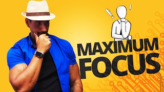 Scheduling Your Day For Maximum Focus