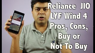 Hindi | Reliance JIO LYF Wind 4 Pros, Cons, Should You Buy or Not Buy