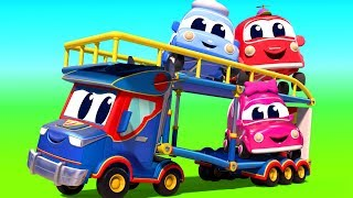Super Truck in Car City - Truck for kids - Official Live